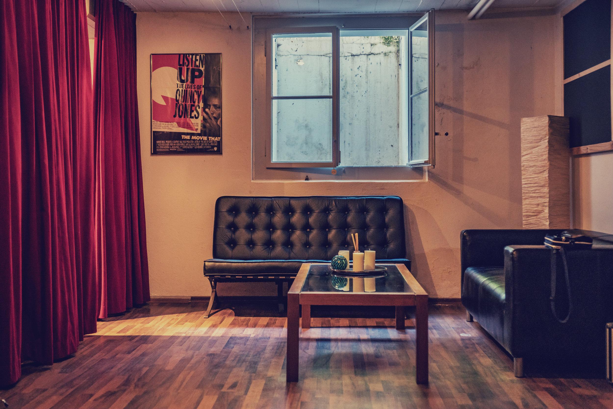 Über uns - Studioräumlichkeiten