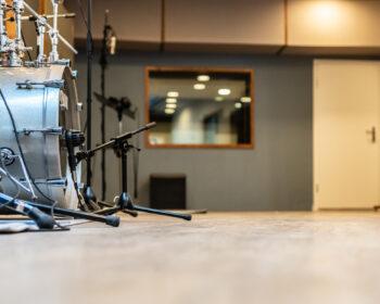 Tonstudio Audioflair Bern. Unser grossflächiger Aufnahmeraum für Aufnahmen jeglicher Art.