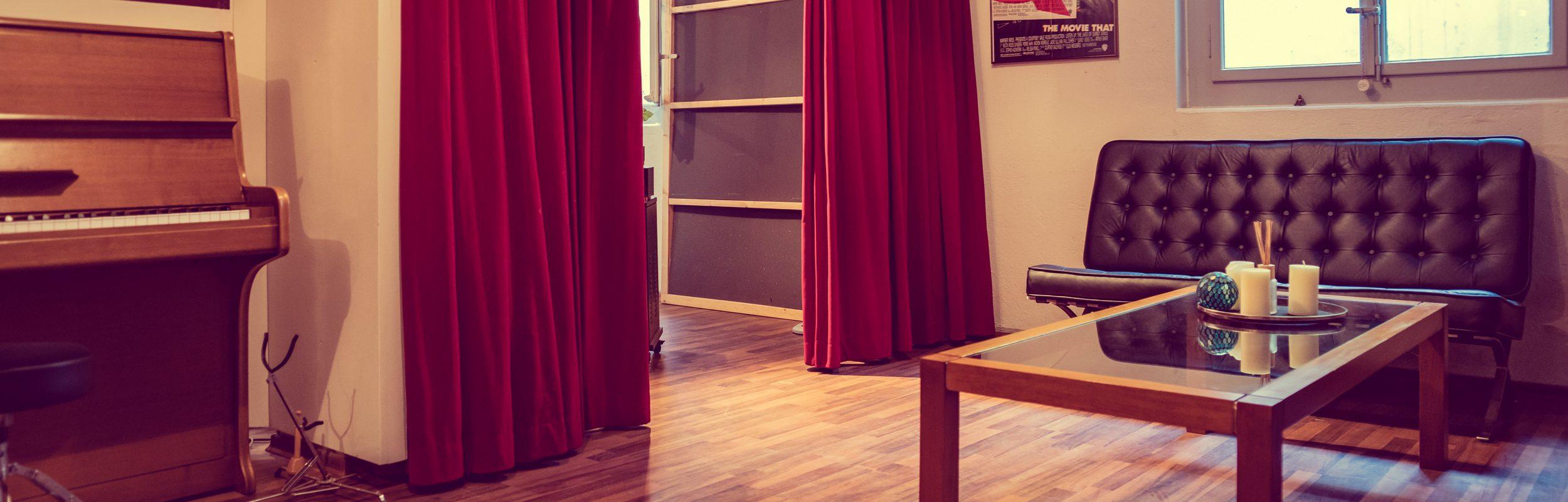 Eingangsbereich Audioflair Studio